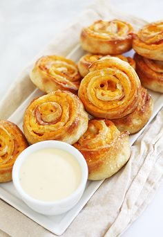 Ham and Cheese Pretzel Bites  INGREDIENTS 1 can Pillsbury refrigerated thin crust pizza dough 1 package (8 ounce) sliced cheddar cheese 1 pa...