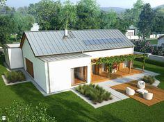 Niski - zdjęcie od Domy Czystej Energii - Domy - Styl Nowoczesny - Domy Czystej Energii