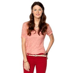 Fossil Samantha Lace Tee