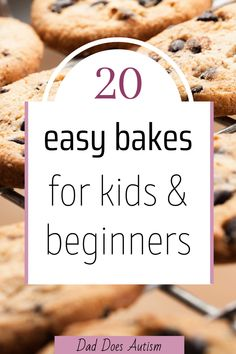 A list of the top 20 easy bakes for kids and beginners, or when you just want something quick and simple. Compiled by myself and my children. Great starter recipes to do with children, or if you are just new to baking. Take a look at these delicious baking ideas. Pick your favourite and give them a try!