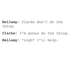 the whole serie #bellarke #the100