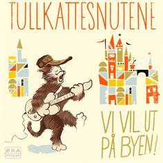 """cd cover """"Tullkattesnutene""""  Spellemannspris, barnemusikk 2013"""