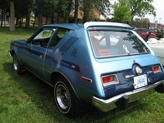 Our fam got one of these '75 AMC Gremlins complete with the Levis interior.