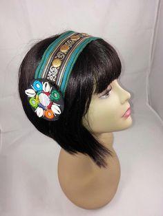 Headpiece headband tribal fusion bellydance by MagicalFashions57, $30.00