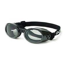 Doggles Ils Dog Sunglasses Extra Small Black - Smoke