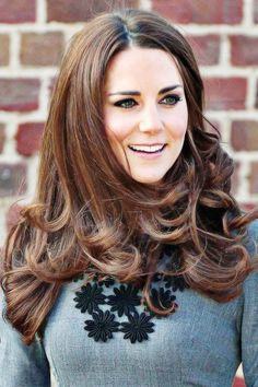 Kate Middleton Its good too see that we are all the same when it comes to needing our roots retouched
