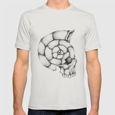 Sea Skull - American Apparel Fine Jersey T-shirts are made with 100% fine jersey cotton combed for softness and comfort.