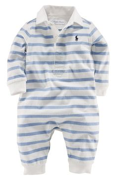 RalphLauren.com Baby Boys Striped Onesie