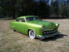 1951 ford deluxe custom - cool green