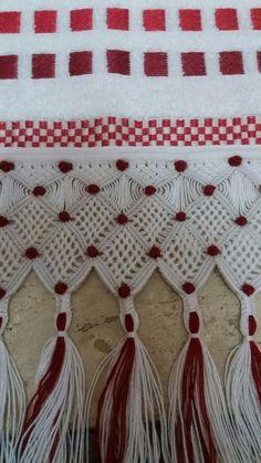 Macrame Toran, Tassel Necklace, Diy And Crafts, Tassels, Macrame Patterns, How To Make Crafts, Towels, Block Prints, Fingernail Designs