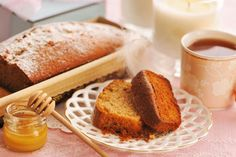 Cake miel - poires