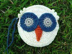Retro Owl Purse | AllFreeCrochet.com