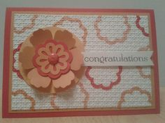 Happy Congratulations by Sarah B - Cards and Paper Crafts at Splitcoaststampers