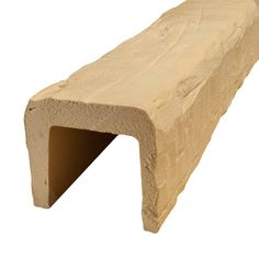 American Pro Decor 7-1/2 in. x 6-5/8 in. x 13 ft. Unfinished Hand Hewn Faux Wood Beam