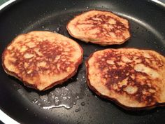 coconut apple pancakes
