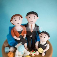 6pcs 3D Man/Woman/Kid Body Figure Parts Fondant Cake Mold Sugarcraft Modelling #Unbranded