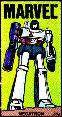 jthenr-comics-vault:  Megatron Corner Box (1984)