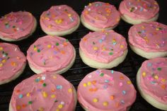 just Sweet and Simple: Lofthouse Frosted Sugar Cookies