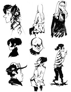 Roman Muradov Sketches