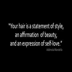 Well said! #teamnatural #naturalhair #loveyourhair #naturalista
