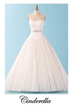 Wedding Dresses inspired by Disney Princess