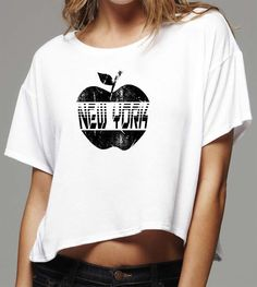 Custom apparel by BadassScreenDesigns.com - Screen Print design of the NYC Big Apple.