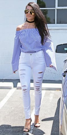 Look of the Day - Kourtney Kardashian - from http://InStyle.com
