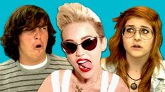 Fine Brothers Entertainment - Miley Cyrus (We Can't Stop) - YouTube