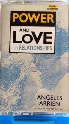 Angeles Arrien -  Power and Love Relationships Cassette Tape 1991 Live Folk