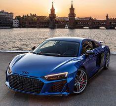 Ara Blue Performance by  Audi R8 Blue, Black Audi, Audi V10, R8 V10, Lux Cars, Lamborghini Veneno, Fancy Cars, Amazing Cars, Maserati