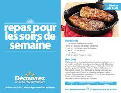 Cette recette de biftecks à la poêle vous sortira de la cuisine en un clin d'œil !  #RepasApprouvésParLesEnfants