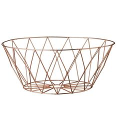 Our copper metal basket has so many uses we lost count. Use it to serve bread…