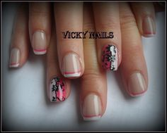 french with black flowers