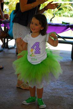 Tinkerbell & Fairies Birthday Party