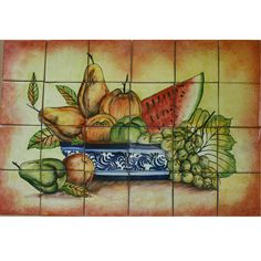 Mexican Style Mural - Frutero