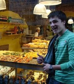 """Peeta: Look at this bread; Isn't it neat? Wouldn't you think my collection's complete? Wouldn't you think I'm the boy, the boy who has every bread? Look at this loaf. Flavors untold. How many flours can one loaf hold? Looking around here you'd think, """"Sure, he bakes everything."""" I've got wheat-bread and biscuits aplenty. I've got cornbread, and crumpets galore! You want bagels? I've got twenty! But who cares? No big deal...I WANT MOREEEEEEEEEEEEEEEEEEEEEE!  (Repinned for that glorious comment)"""