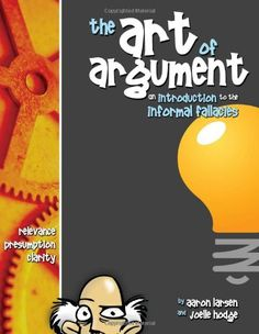 The Art of Argument by Aaron Larsen (8th Grade Homeschool) LOVE this.  Every middle school student should take a class centered around this book.