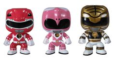 Funko has unveiled their latest Pop! figures (we were previously excited about the Game of Thrones collection) and it's the Mighty Morphin Power Rangers! Gotta get my hands on a Kimberly one! Funko Pop Figures, Pop Vinyl Figures, Vinyl Toys, Funko Pop Vinyl, Funk Pop, Nerd Problems, Pop Toys, Pop Collection, Mighty Morphin Power Rangers