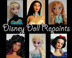 Do you want your Disney doll to really look like the animated character and not like the mass produced thing? Or maybe you dream of having a doll of a cartoon character, which never was made into a...