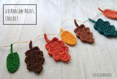 cosicasraquel ,regaloshandmade ,Jaca ,pattern crochet,free crochet, artesania jaca, crochetfree, yarn,manualidadespara todos Crochet Flowers, Crochet Necklace, Arts And Crafts, Knitting, Apro, Leaves, Blog, Free, Ideas