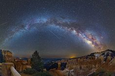 Agua Canyon in Bryce Canyon National Park, South West Utah, is similarly brought to life with splashes of color from the Milky Way and even some shooting stars flashing across the sky. Description from pinterest.com. I searched for this on bing.com/images