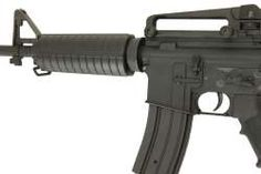 AGM 031 M4A1 Airsoft AEG Rifle Gun Metal- Click to view larger image