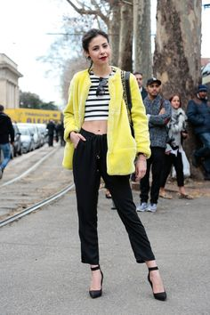 Milan Fashion Week February 2015 | Street styles by Team Peter Stigter | #wefashion