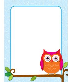 """Create your own inspirational message or classroom display with this blank decorative chart complete with the popular and contemporary Colorful Owls design. This chart includes enough space to personalize and create charts for vocabulary words, signs for centers, classroom rules, weekly assignments, and much more. Let your imagination run wild! Includes one chart measuring 17"""" x 22"""".  Look for coordinating products in this design to create an exciting classroom theme!"""