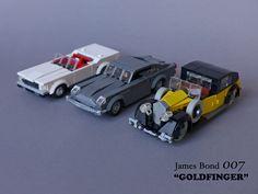 """https://flic.kr/p/z6S1Am   James Bond 007 """"Goldfinger"""" - Movie Cars   The main movie cars from the 1964 James Bond film"""