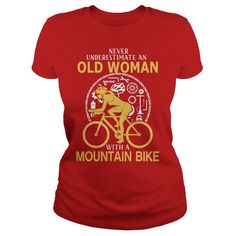 Never Underestimate An Old Woman With A Mountain Bike