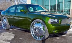 Dodge Charger Riding On 30 Inch Rims – COOL OR CRAZY?