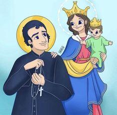Santa Maria, Princess Zelda, Disney Princess, Roman Catholic, Disney Characters, Fictional Characters, Family Guy, Faith, St John Bosco