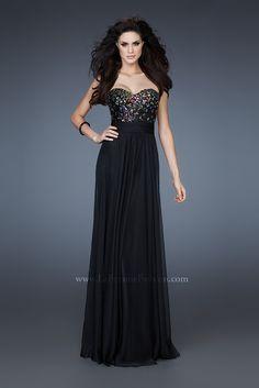 601c864d432 Black prom dress with gem stones Dress Prom
