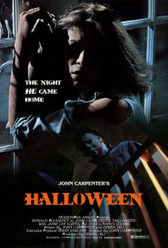 """<3 Halloween (1978) movie poster. ^^ """"The Night He Came Home"""" ^^  #halloween #horrormovies #horrorposters"""
